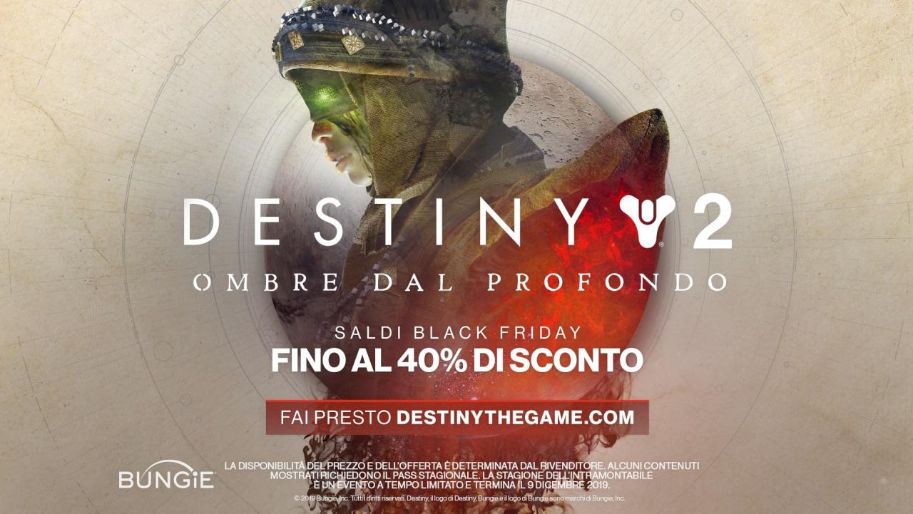 Anche Destiny 2 ha il suo Black Friday: sconti fino al 40% sul gioco e le sue espansioni