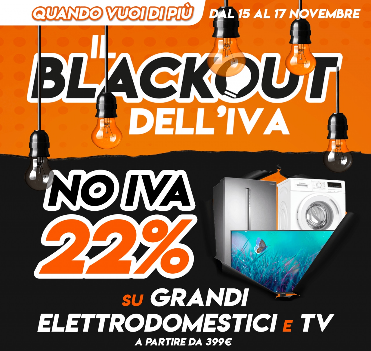 Expert Anticipates Black Friday With The Vat Blackout 18 Off From 399 Euro