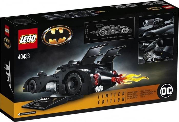Le immagini ufficiali della Batmobile Limited Edition made by LEGO (foto)