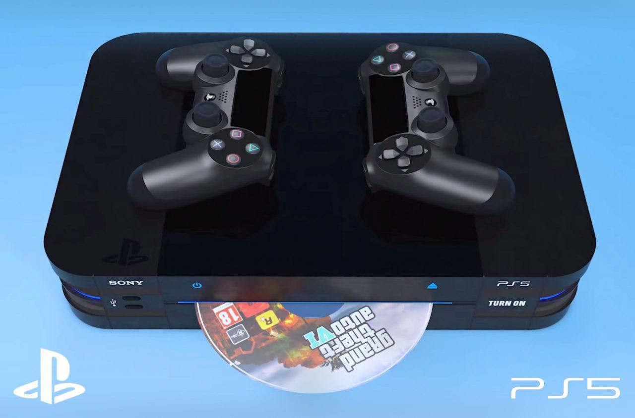 Ecco come appaiono PlayStation 5 e i nuovi DualShock 5 in un nuovo concept (foto e video)