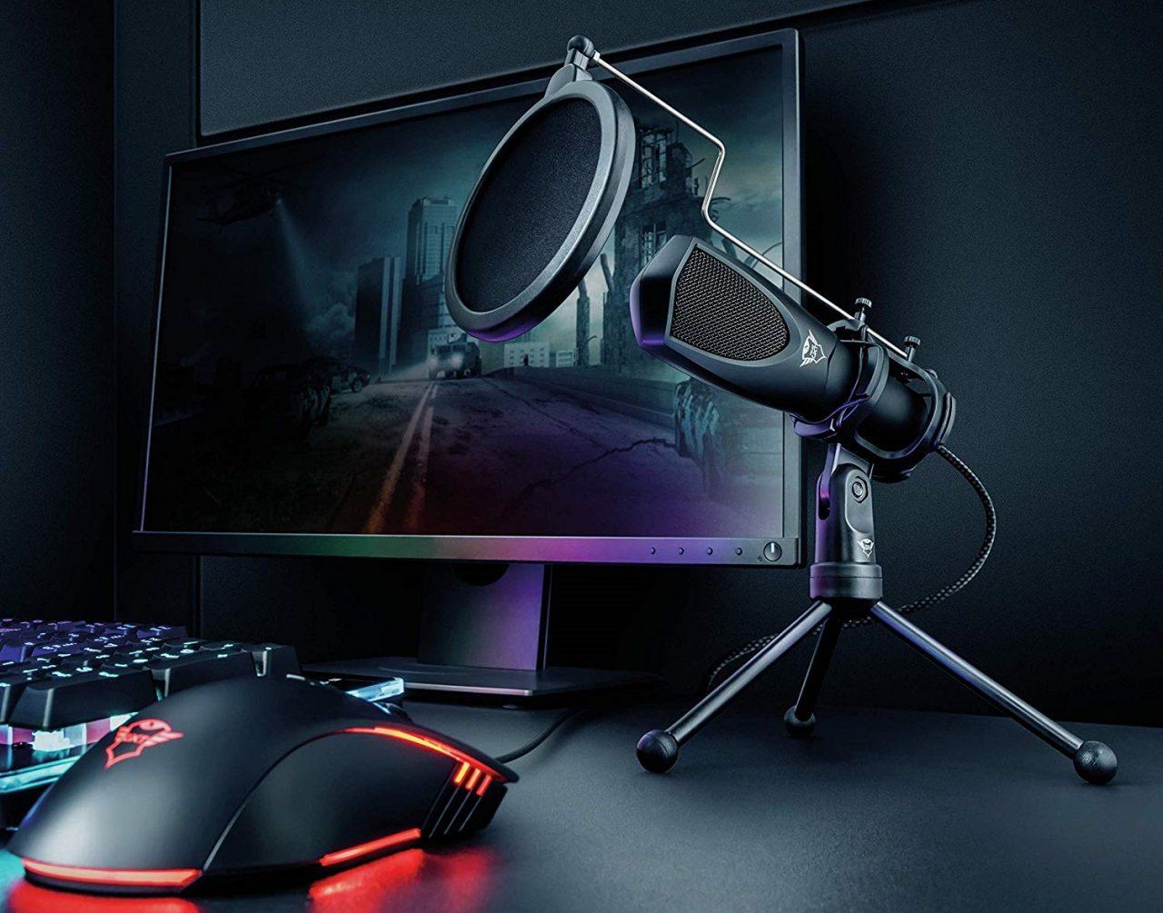 Il microfono Trust Gaming GXT 232 Mantis è in sconto: costa poco e fa il suo dovere!