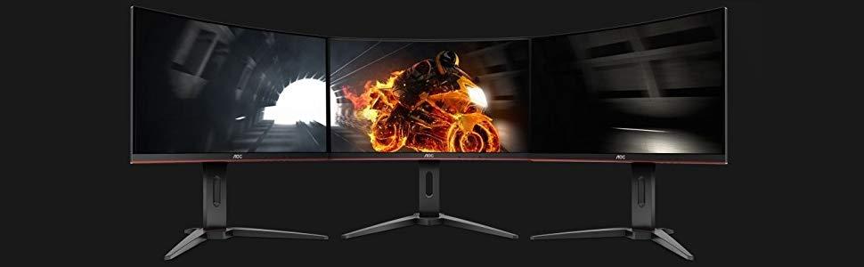 Prezzo goloso per il monitor gaming AOC C24G1: bello, curvo e velocissimo