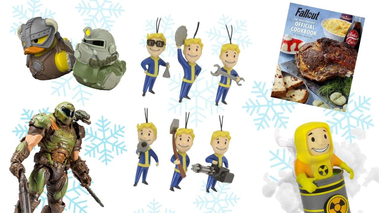 Natale con i gadget Bethesda: ugly sweater, le paperelle di Skyrim, libri di ricette e tanto altro (foto)