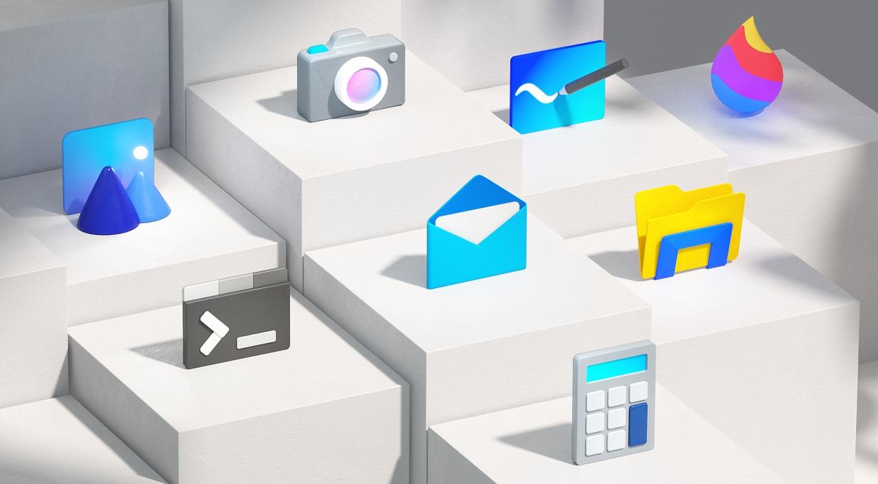 Il Fluent Design inizia a sbarcare su Windows 10 con le nuove icone