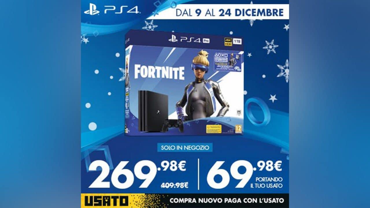 PS4 Pro al prezzo più basso di sempre da Gamestop Italia e altre offerte