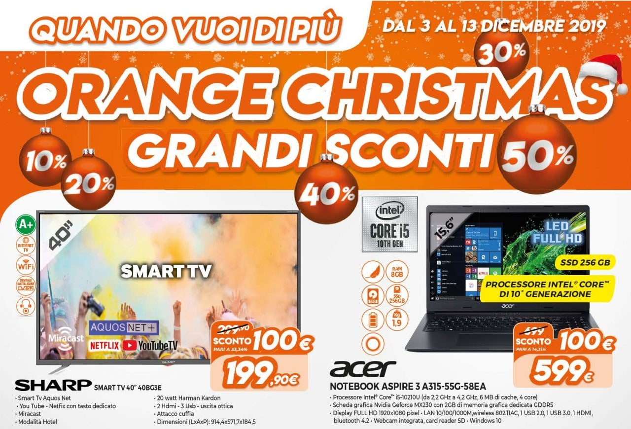 """Volantino Expert """"Orange Christmas"""" 3–13 dicembre: quante ..."""