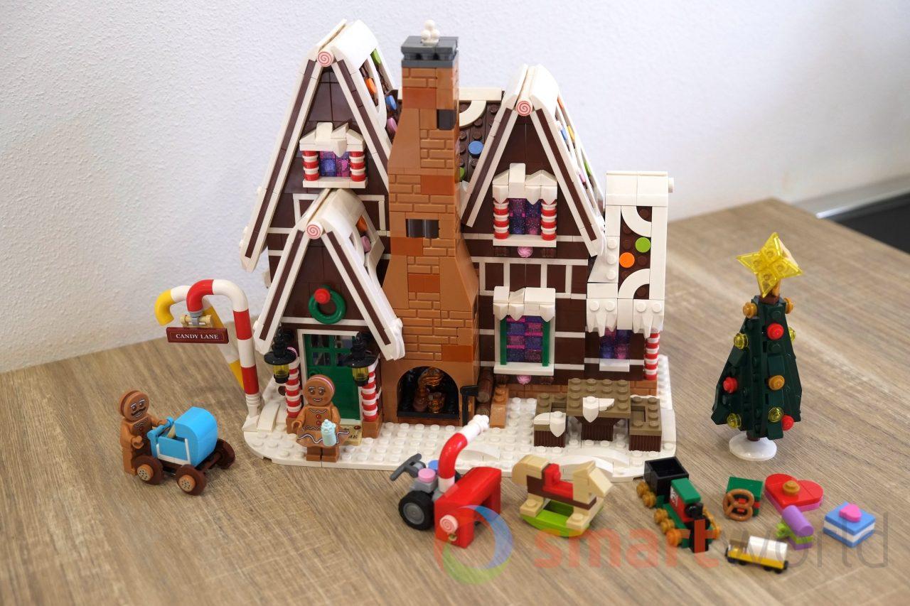 LEGO Casa di pan di zenzero 10267, la foto-recensione