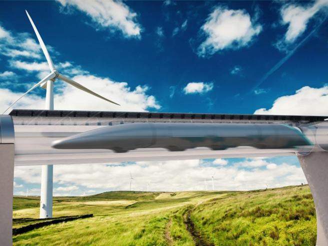 Hyperloop Italia si presenta a Roma: il futuro dei treni va a 1.200 km/h!