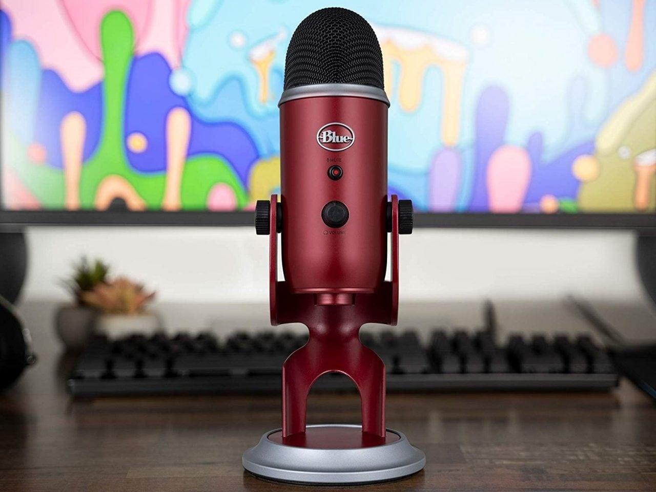 Microfono Blue Yeti: c'è una bella colorazione in sconto speciale!