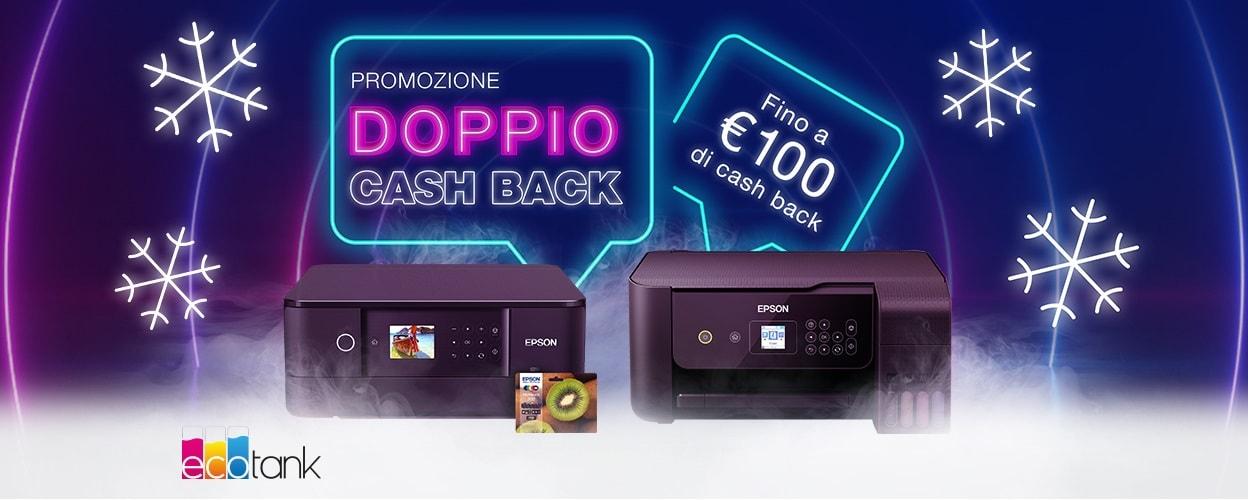 Epson vi rimborsa fino a 100€ acquistando una delle sue stampanti selezionate