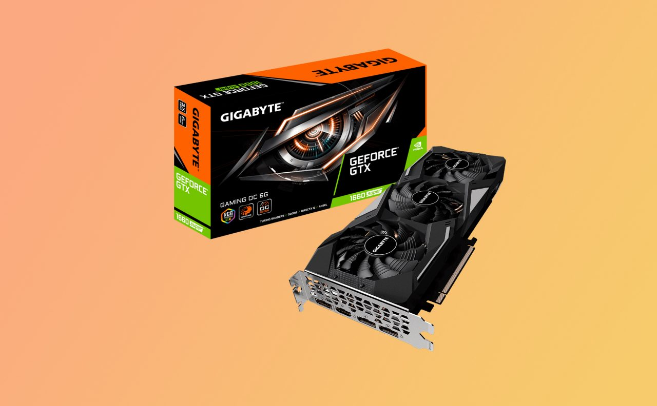 La GPU Gigabyte GTX 1660 Super cala di prezzo su Amazon: oggi in sconto a 269€