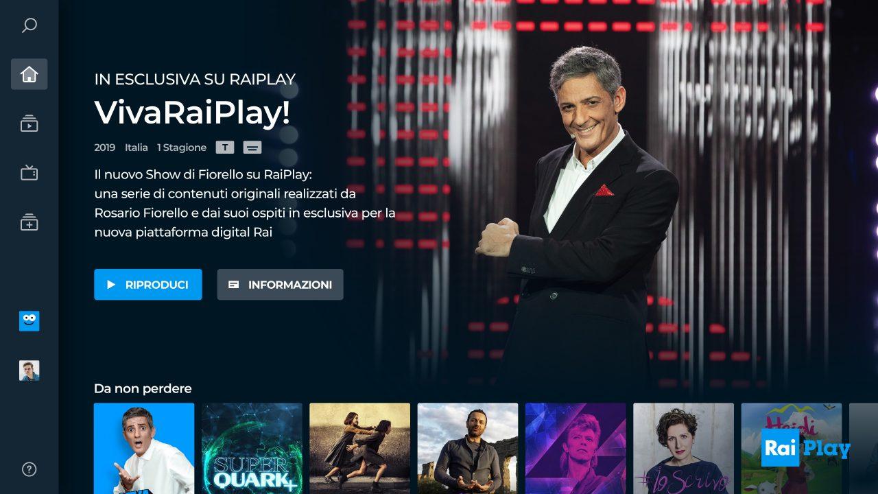 Nelle nuove TV Hisense RaiPlay sarà a portata di tasto