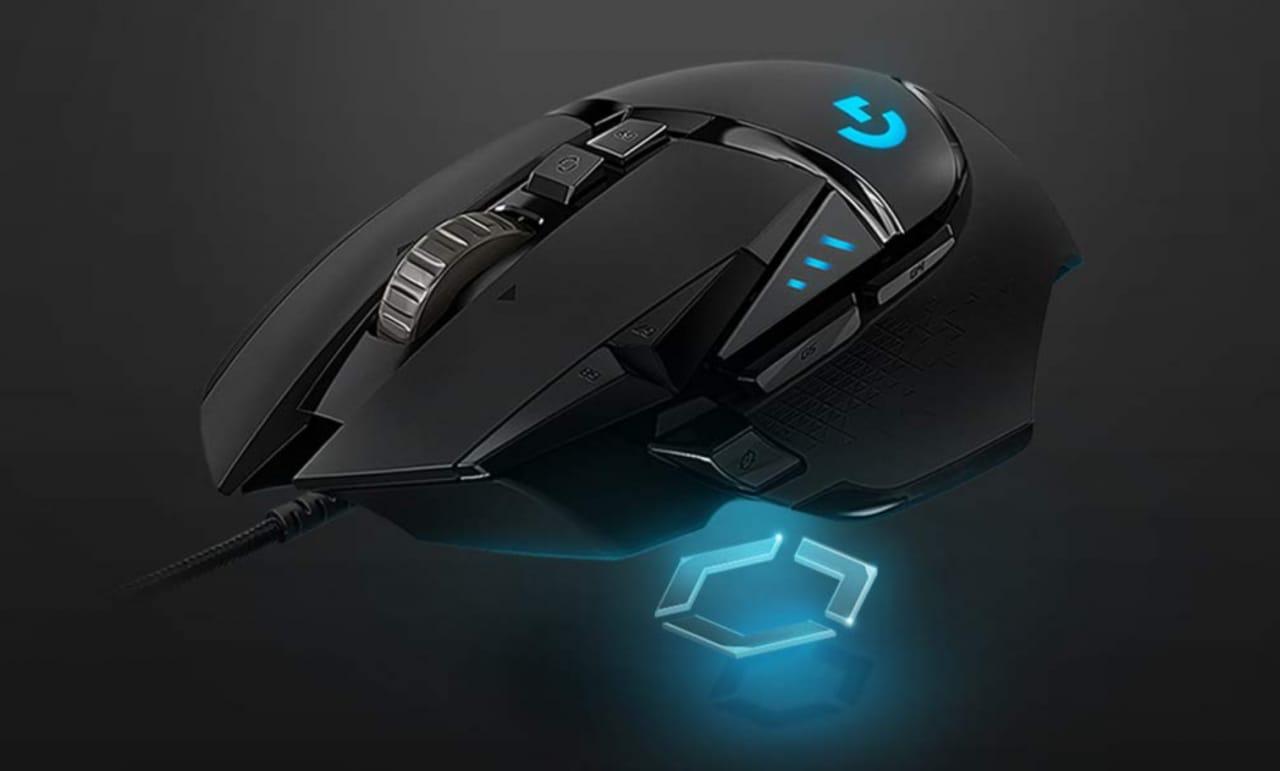Logitech G502 HERO in super sconto a soli 34€: mouse gaming a 25.600 DPI