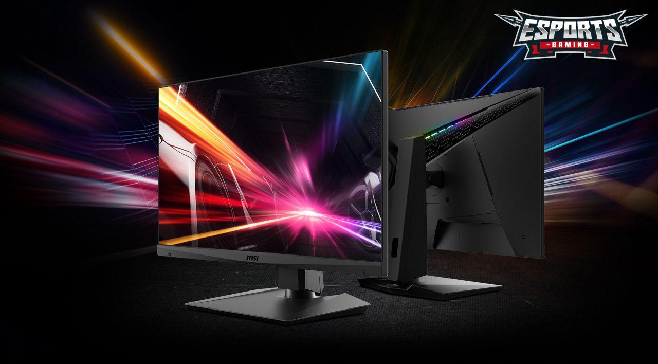Che sconto per il monitor gaming MSI Optix! 165 Hz e HDR per giocare da veri PRO