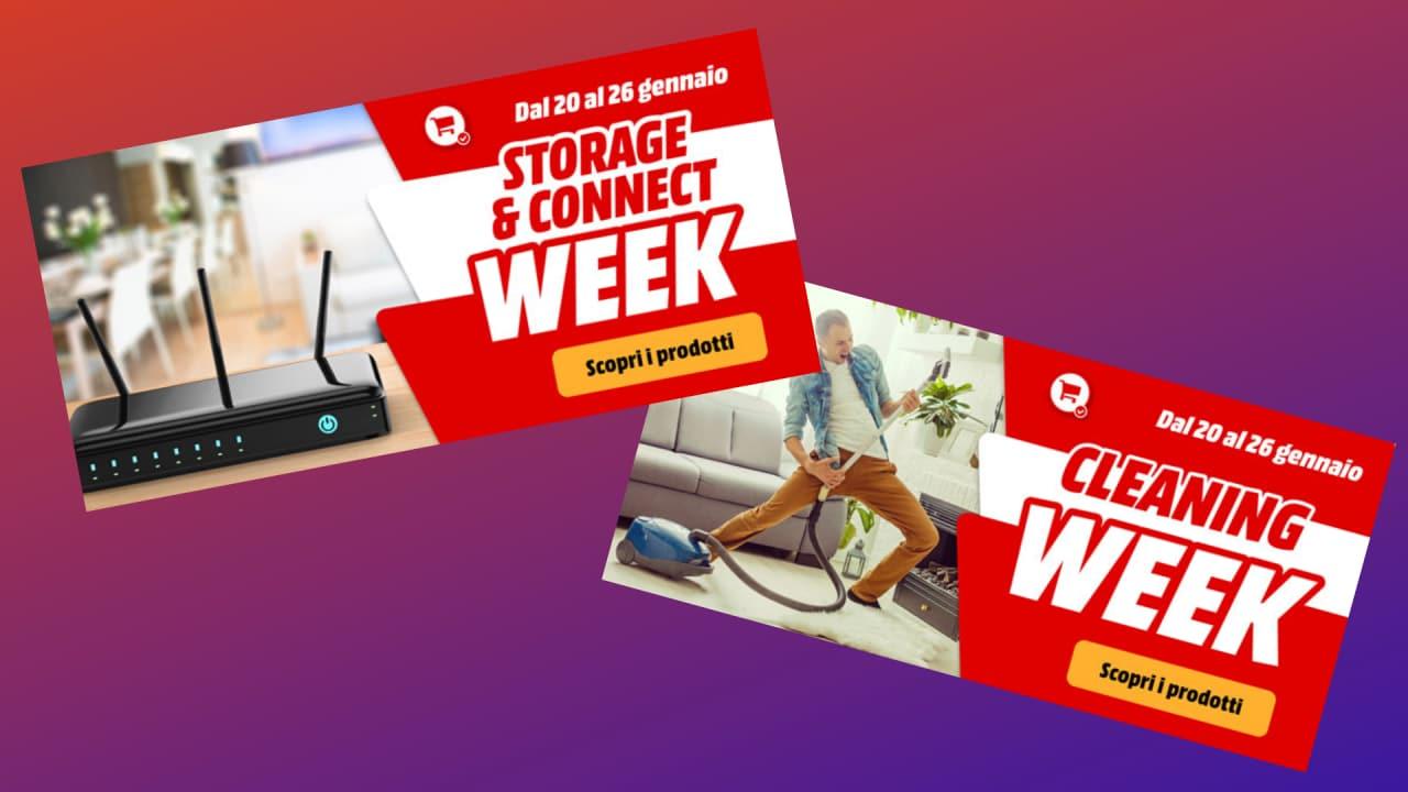 Da MediaWorld si risparmia su aspirapolvere, SSD e connettività fino al 26 gennaio