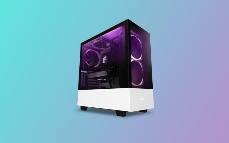 Case PC bello come pochi in sconto Amazon: NZXT H510 Elite da non perdere!