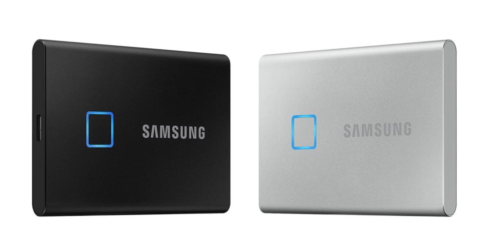 Il nuovo SSD esterno di Samsung è velocissimo e ha pure un lettore d'impronte, cosa si può chiedere di più?