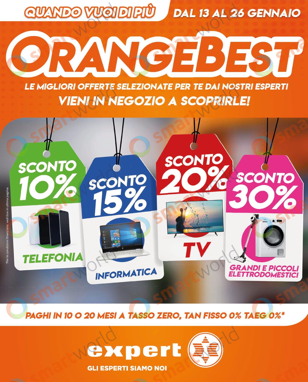 """Volantino Expert """"OrangeBest"""" 13-26 gennaio (1)"""