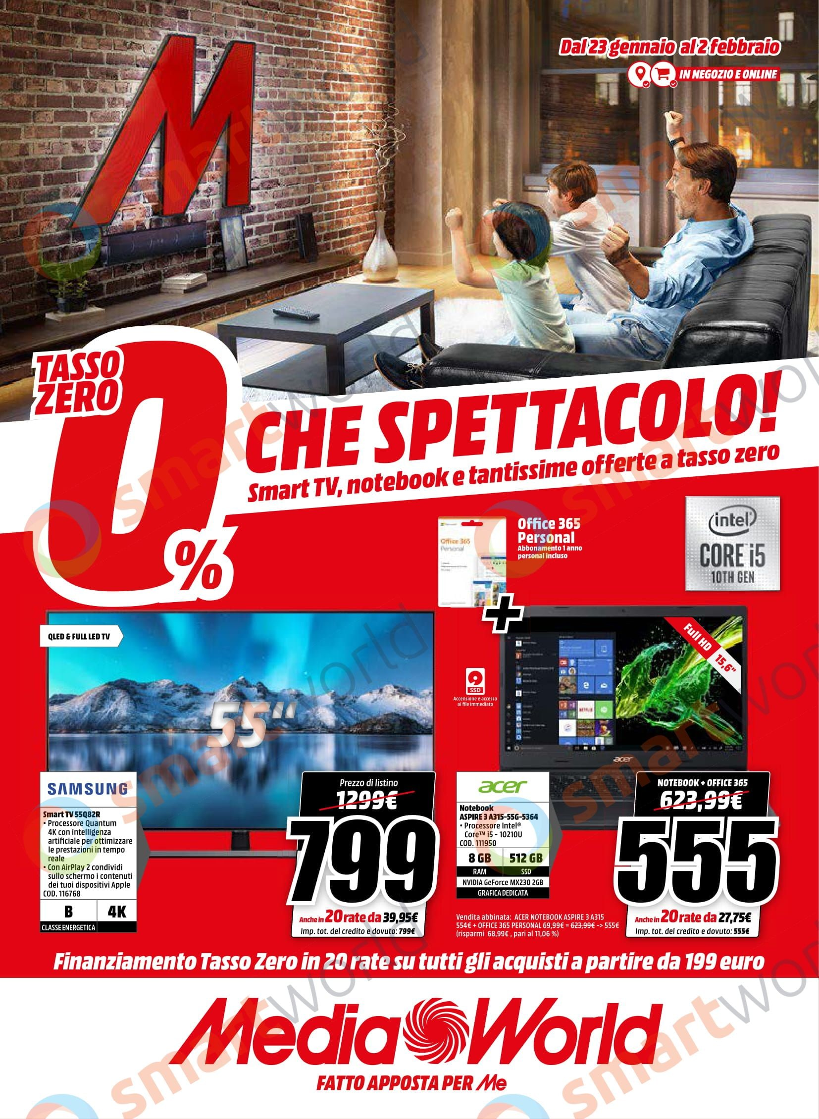 """Volantino MediaWorld """"Che Spettacolo!"""" (1)"""
