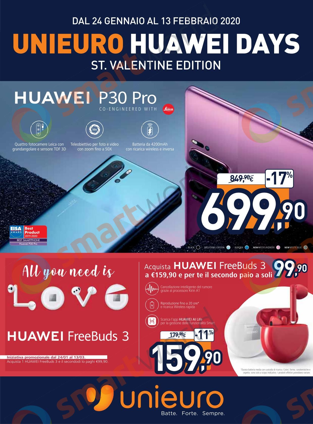 "Volantino Unieuro ""Huawei Days"" (2)"