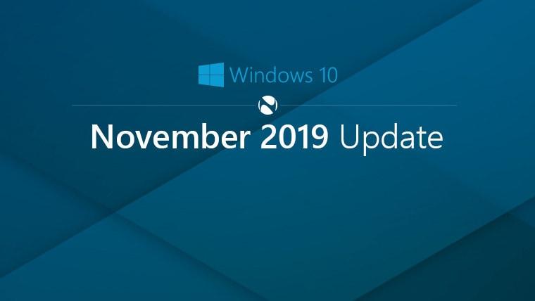Windows 10: l'aggiornamento di novembre 2019 si muove a piccoli passi (foto)