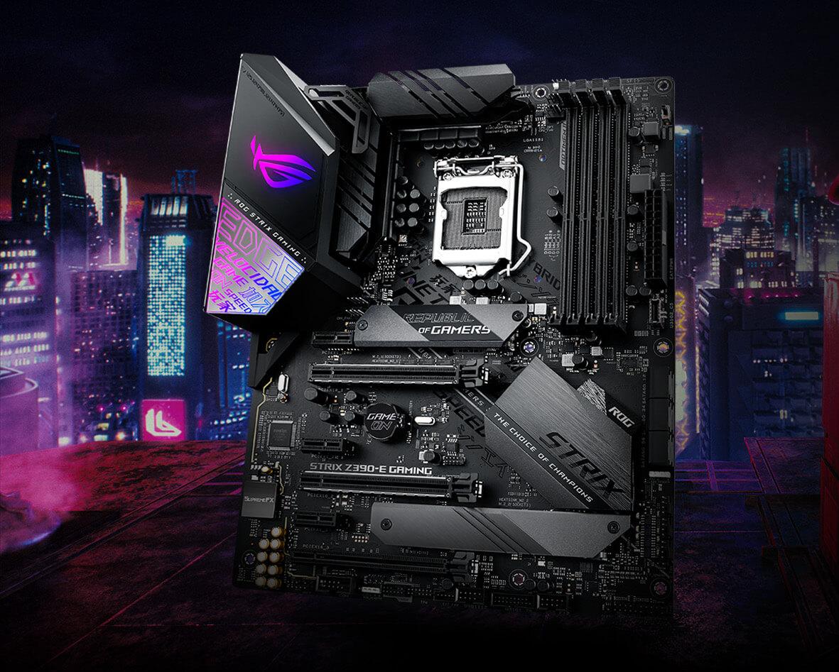 Amazon tenta i PC gamer: offerte da non perdere per le schede madre ASUS Z390 e X570