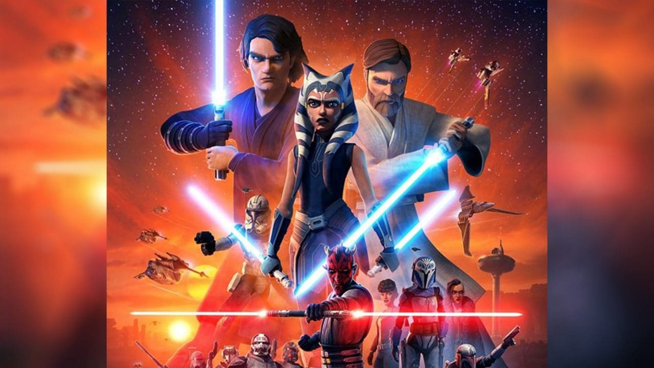 L'ultima stagione di Star Wars: The Clone Wars arriva su Disney+ a fine febbraio (trailer)