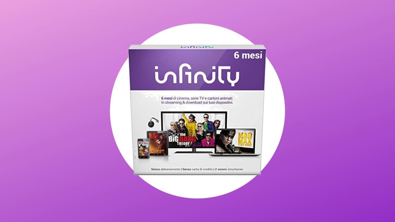 6 Mesi di Infinity a 24,99€ su Amazon: guardate film, serie TV e cartoni animati