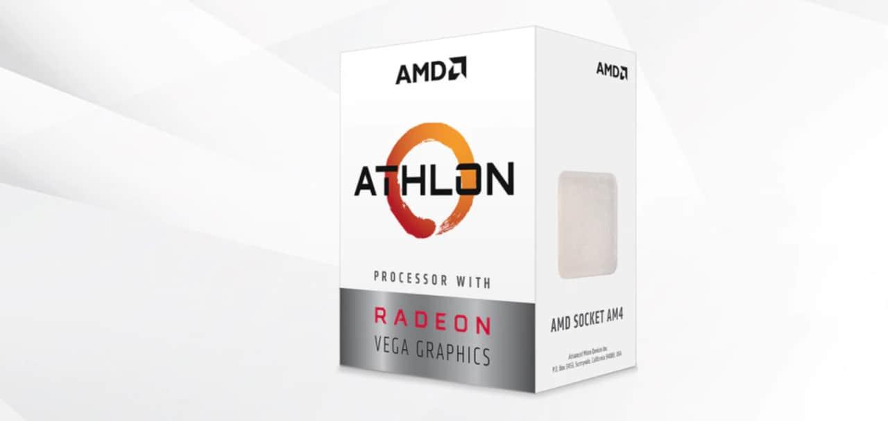 AMD Athlon 3000G al miglior prezzo di sempre: CPU completa a meno di 55€
