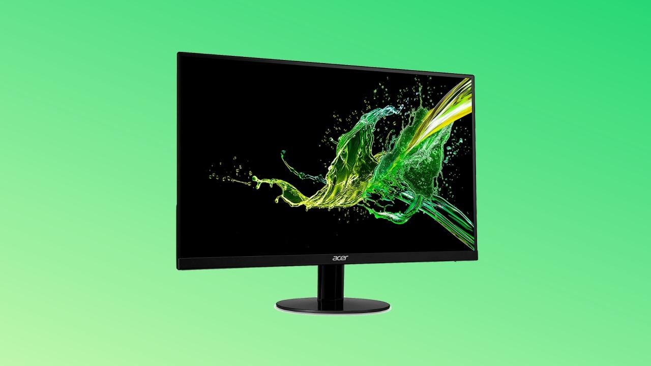 Occhio al monitor low cost: ecco la proposta di Acer in offerta a soli 99€