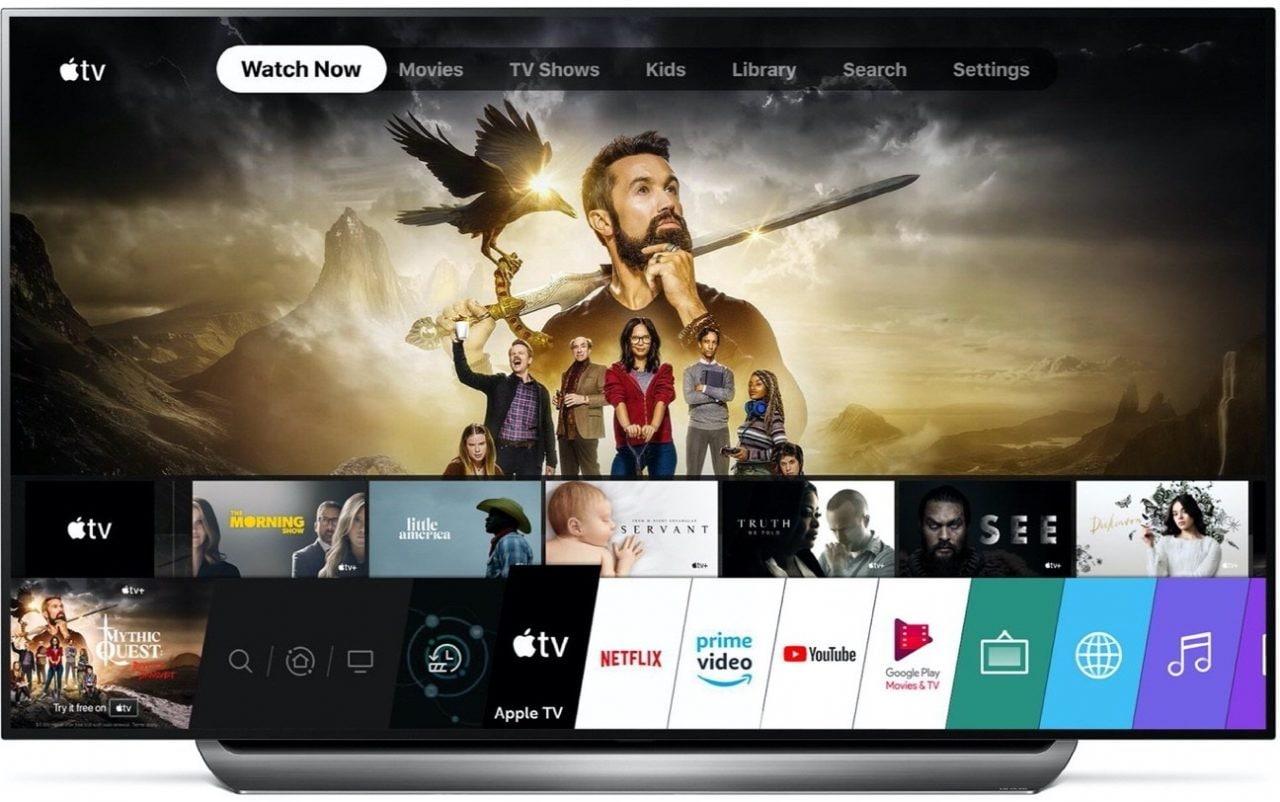 LG mantiene le promesse: Apple TV disponibile sui TV 2019 di più di 80 paesi
