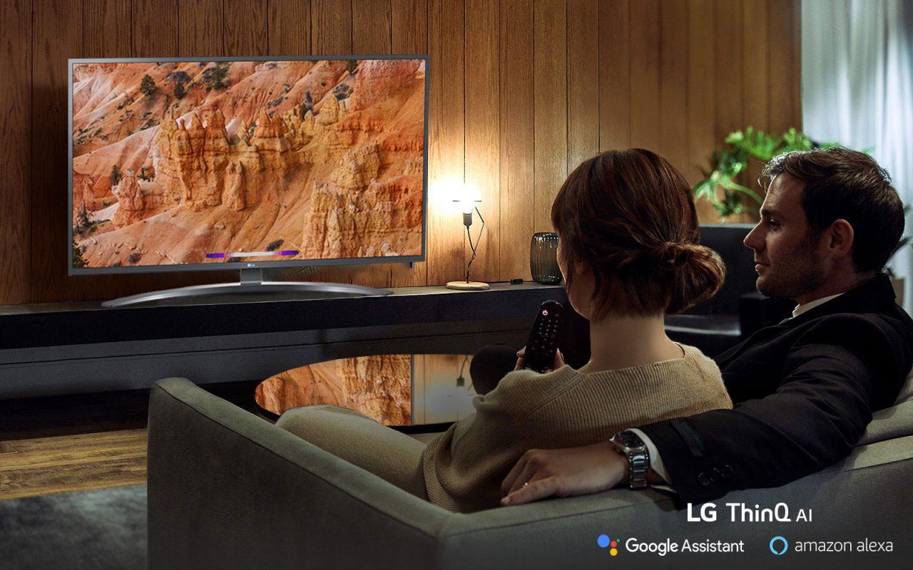 """Smart TV LG da 55"""" in offerta a 439€ su Amazon: fate contento il vostro salotto"""