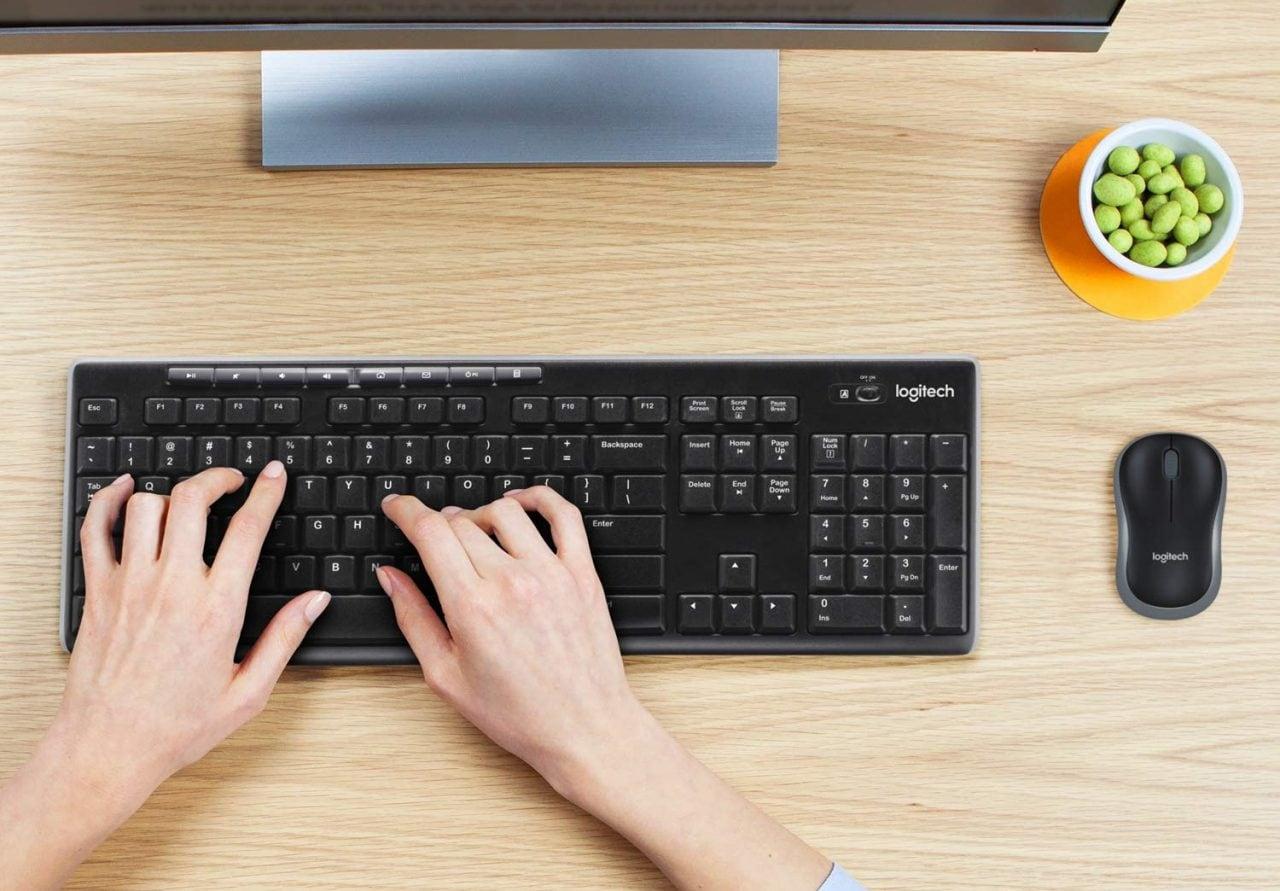 In cerca di mouse e tastiera wireless? Ecco un kit Logitech in offerta a meno di 20€