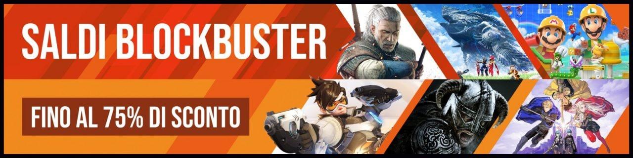 """Offerte Nintendo Switch """"Blockbuster 2020"""": i migliori giochi fino al 75% di sconto"""