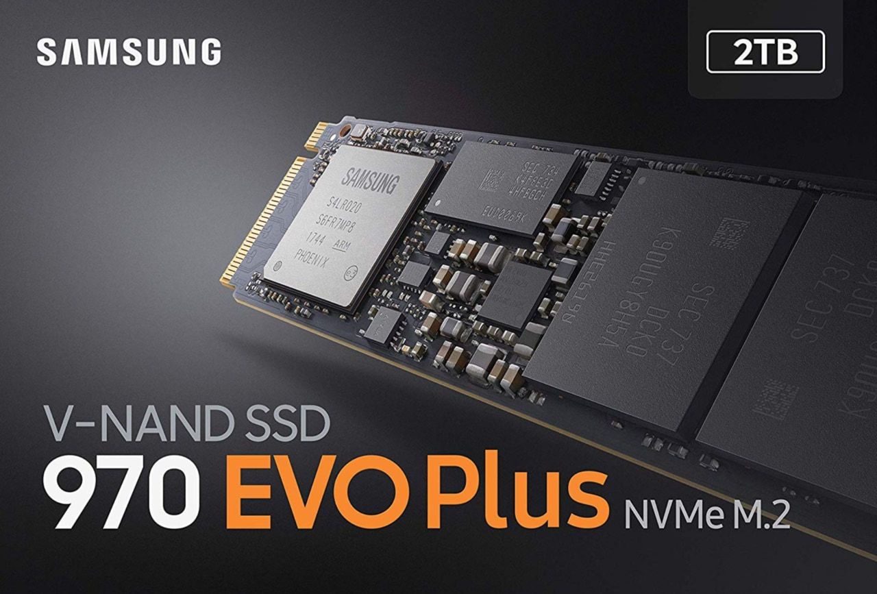 Samsung 970 EVO Plus al miglior prezzo di sempre: un SSD da 2 TB da non perdere