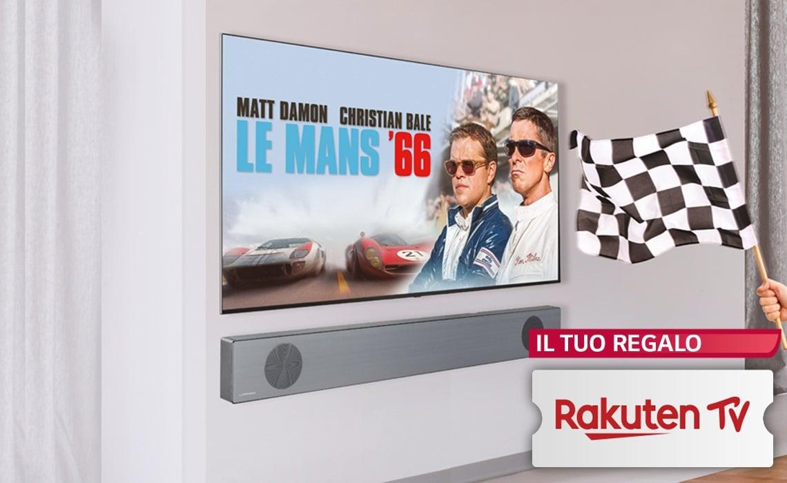Se acquistate una Soundbar LG, c'è Rakuten TV in omaggio: ecco le condizioni