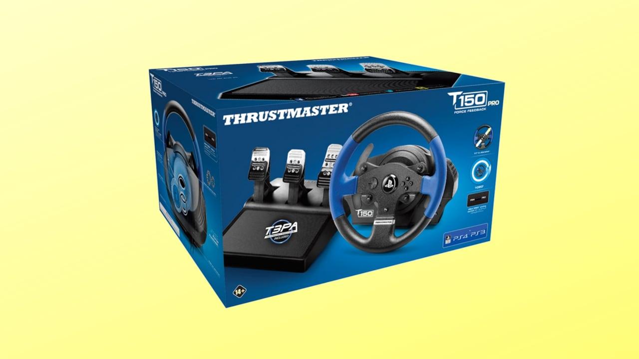 Appassionati di simulazioni? Il volante Thrustmaster T150 con pedaliera è in sconto
