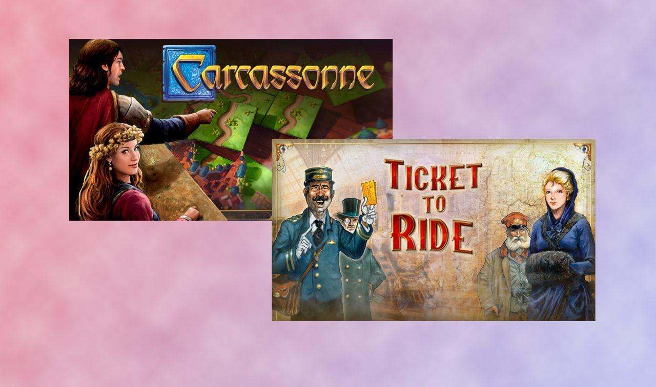 Ticket to Ride e Carcassonne gratis su Epic Games Store fino al 13 febbraio: due classici imperdibili (video)