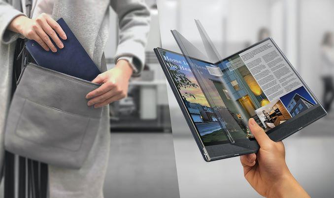 Ecco FlexBook, il tablet PC pieghevole pensato da Compal (foto)
