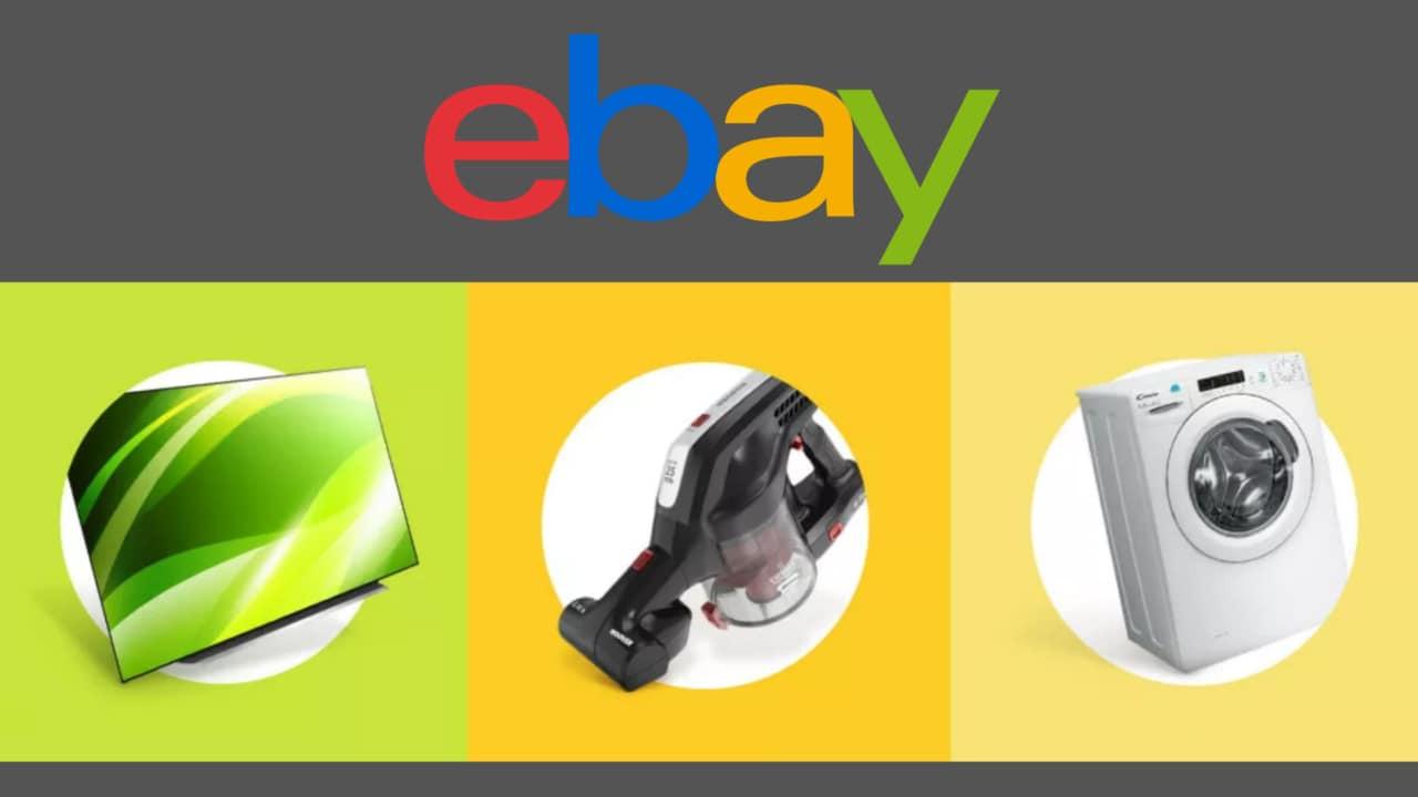 Offerte eBay: -60% su TV, informatica ed elettrodomestici delle migliori marche