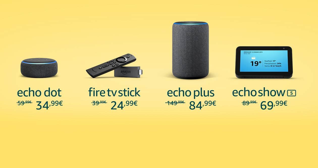 Amazon Echo, Fire TV Stick e Blink in sconto fino al 35%: offerte da non perdere! (aggiornato)