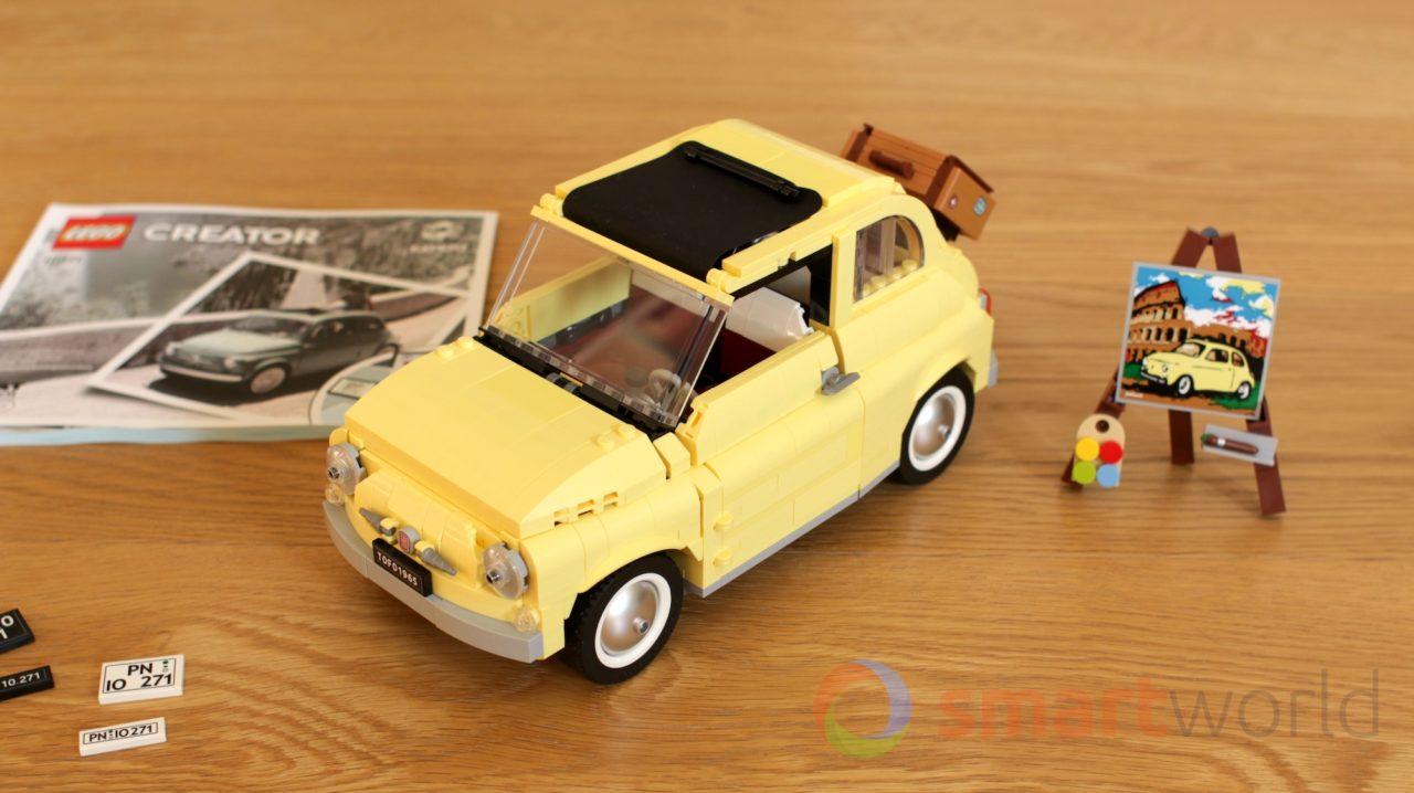 LEGO Fiat 500 10271: la foto-recensione