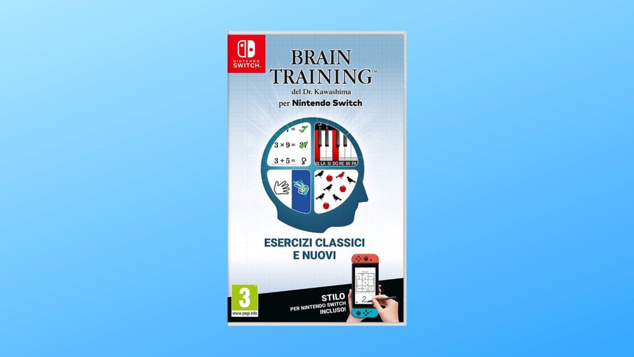 Allenate il vostro cervello con Brain Training su Nintendo Switch in super sconto
