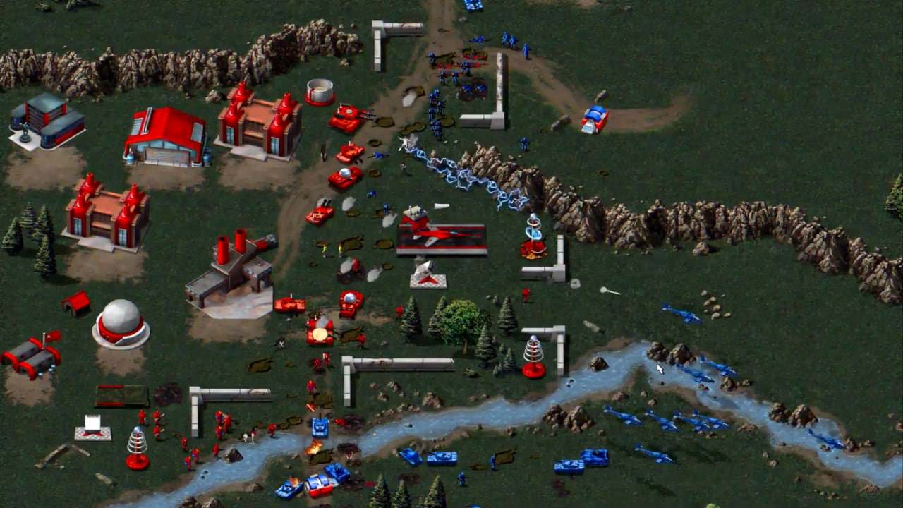 Risultato immagini per Command and conquer remastered collection