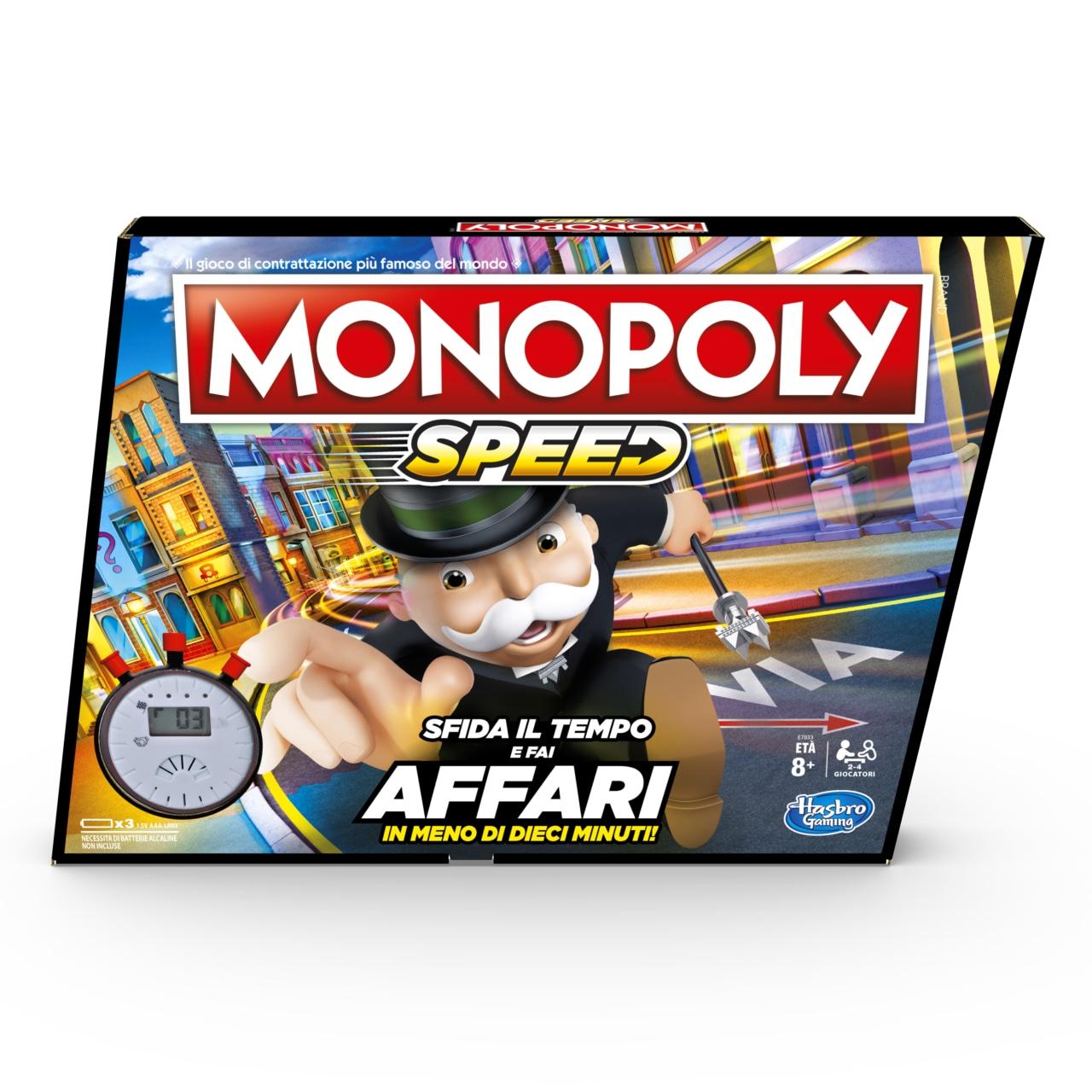 Ecco Monopoly Speed, ovvero il Monopoly per chi ha fretta (o poca pazienza)