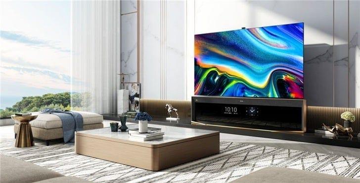 Hisense vola alto con il suo nuovo TV dual screen con risoluzione 8K (foto)