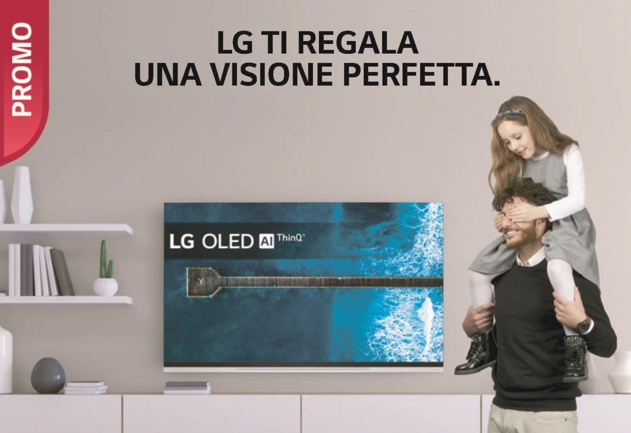 Promozione LG: fino a 200€ di rimborso per l'acquisto di un TV OLED