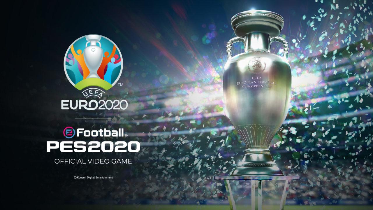 eFootball PES 2020: l'aggiornamento UEFA EURO 2020 disponibile da oggi gratuitamente!