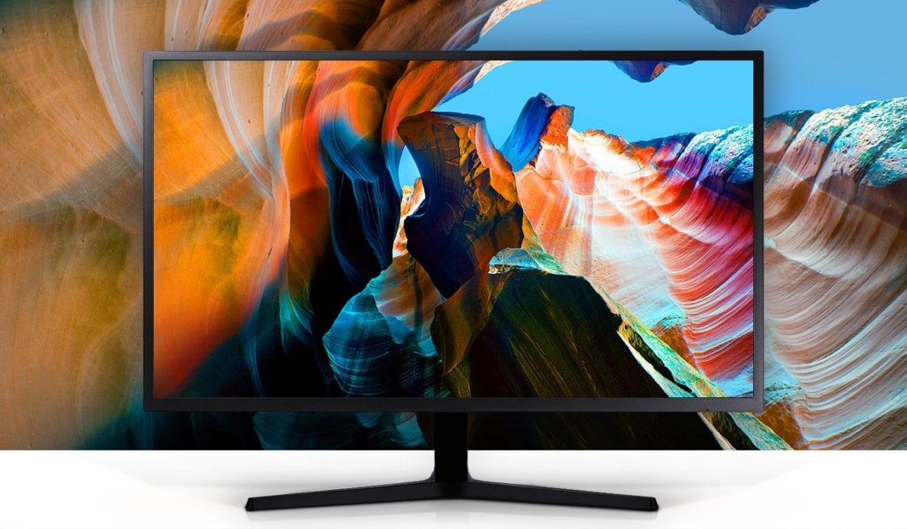 """Buon prezzo per il monitor 4K Samsung da 32"""" in offerta su Amazon"""