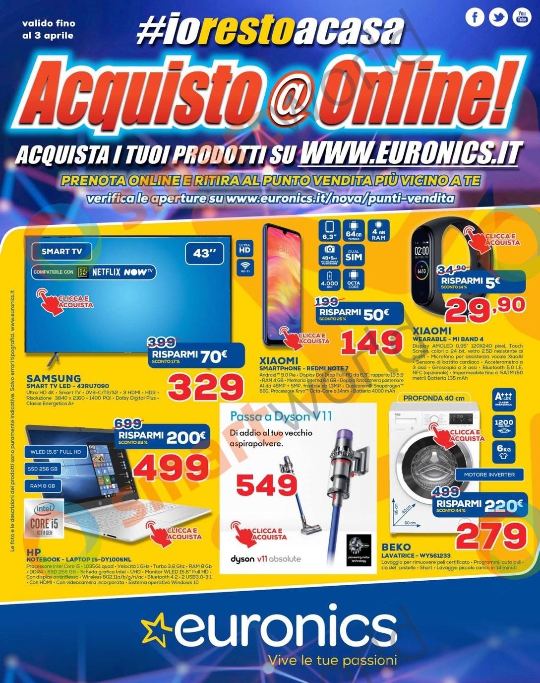 Volantino Euronics Nova: offerte su TV, cellulari e molto ...